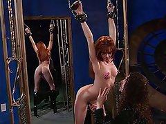 BDSM, Redhead, Latex