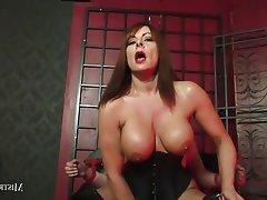 BDSM, Big Boobs, Cumshot, Femdom