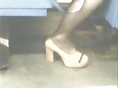 Asian, High Heels