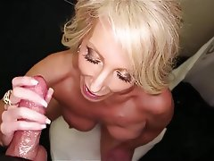 Granny, Handjob, Old and Young
