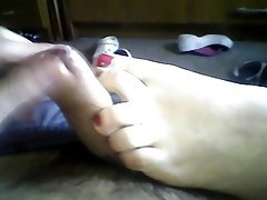 Amateur, Close Up, Foot Fetish, Footjob