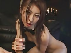 Blowjob, Femdom, Japanese, Threesome