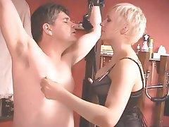 BDSM, Blonde, CFNM, Femdom