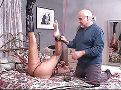 BDSM, Big Boobs, Brunette, Foot Fetish