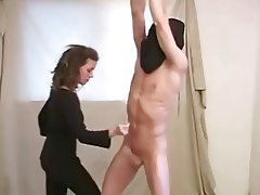 BDSM, Handjob, Femdom, Masturbation