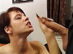 Blowjob, Facial, German, Handjob