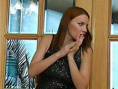 BDSM, Femdom, Redhead, Russian