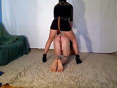 BDSM, Femdom, Spanish, Strapon