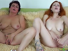 BBW, Lesbian, Mature, Old and Young