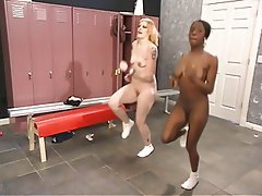 BDSM, Threesome, Interracial, Blonde