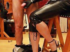 BDSM, Femdom, Spanish, Foot Fetish